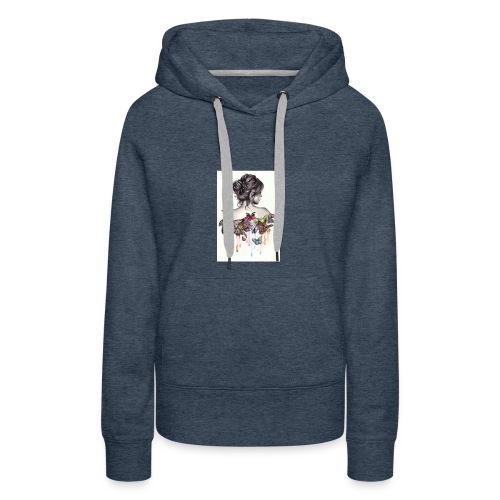 The love that surrounds her - Women's Premium Hoodie