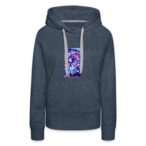 Tye dye hoodie - Women's Premium Hoodie