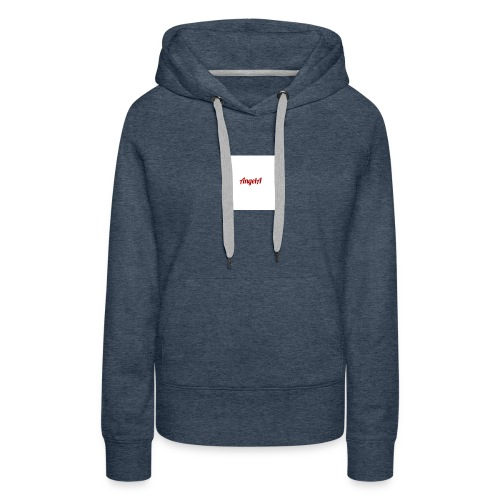 withe A - Women's Premium Hoodie
