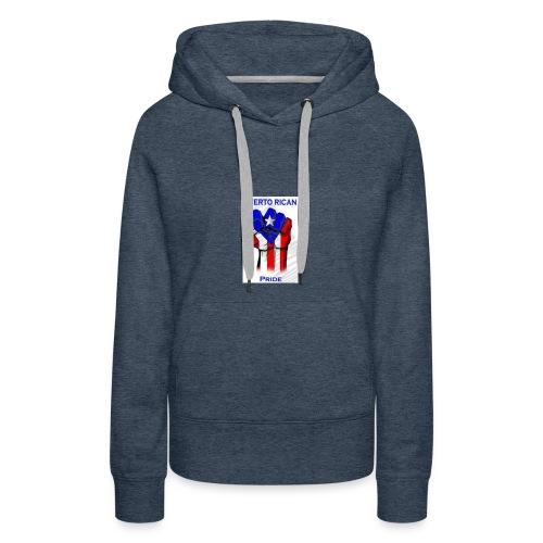 2196b2dd4c9fc916b2008e70219c0a3c puerto rican rec - Women's Premium Hoodie