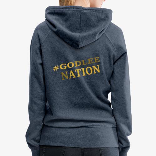 GodLee Nation - Women's Premium Hoodie