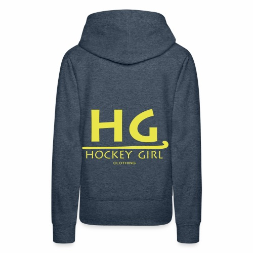 HG logo 3 THIS ONE FINAL - Women's Premium Hoodie
