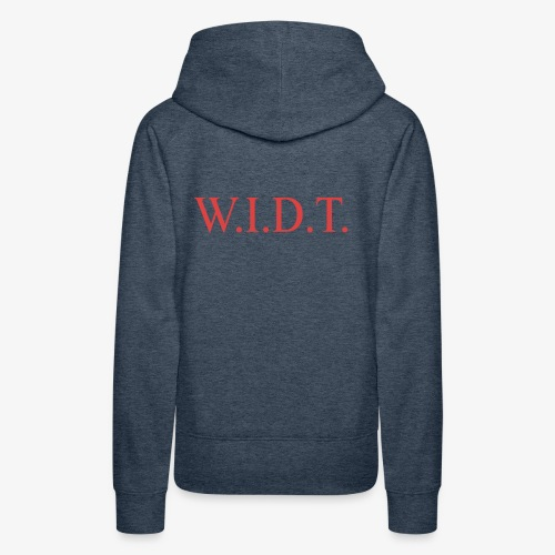 WIDT - Women's Premium Hoodie