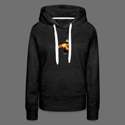 Abstract Phoenix - Women's Premium Hoodie