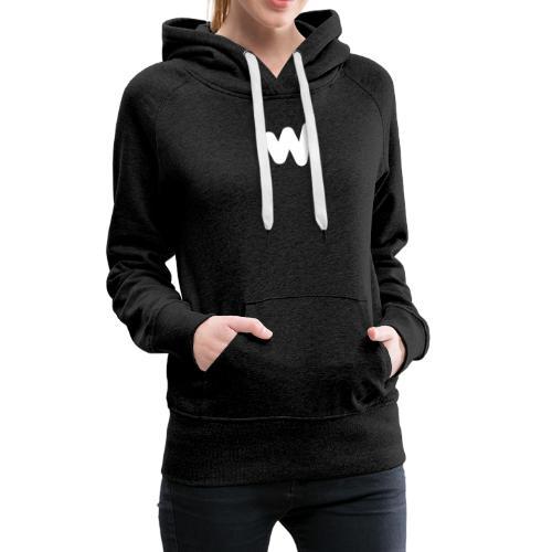 white w Small 8x - Women's Premium Hoodie