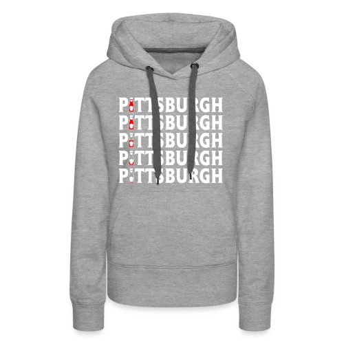 Ketch Up in PGH - Women's Premium Hoodie