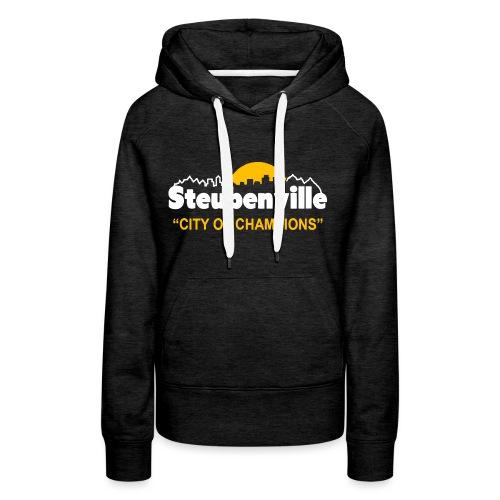 Steubenville - City of Champions - Women's Premium Hoodie