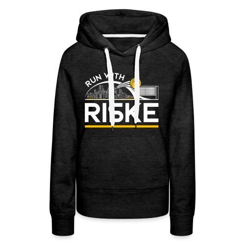 Run With Riske - Women's Premium Hoodie