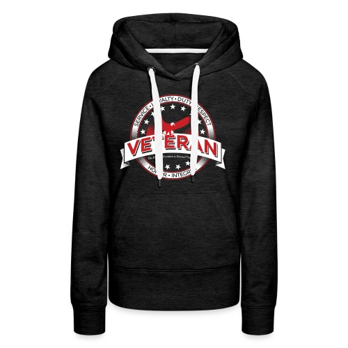 Veteran Soldier Military - Women's Premium Hoodie