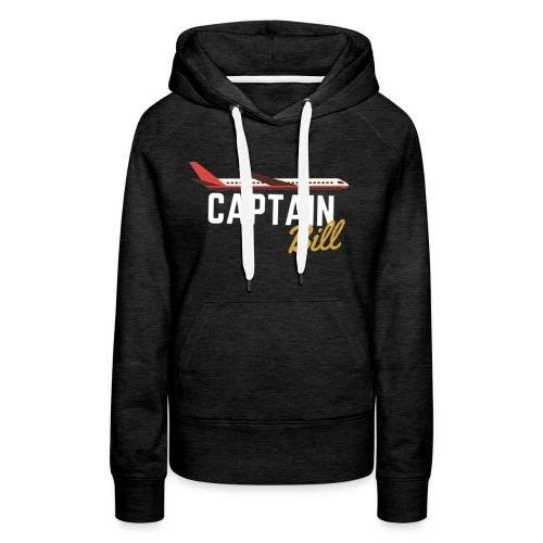 Captain Bill Avaition products - Women's Premium Hoodie