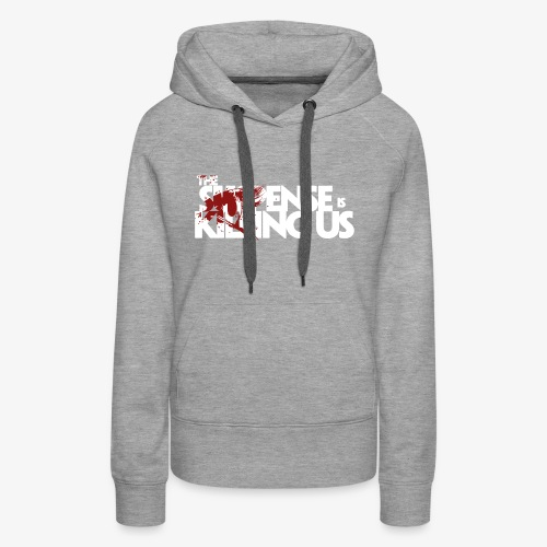 Suspense Is Killing Us Red Eye Logo - Women's Premium Hoodie