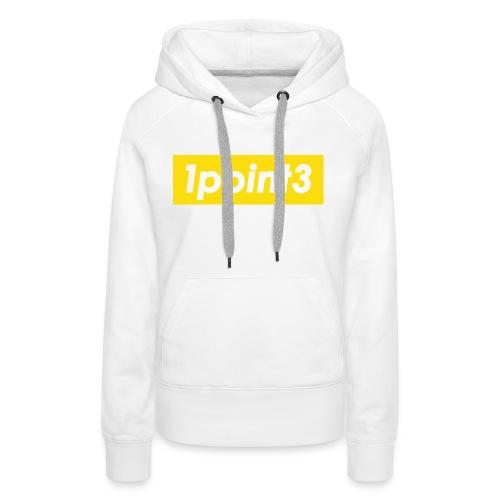 1point3 yellow - Women's Premium Hoodie