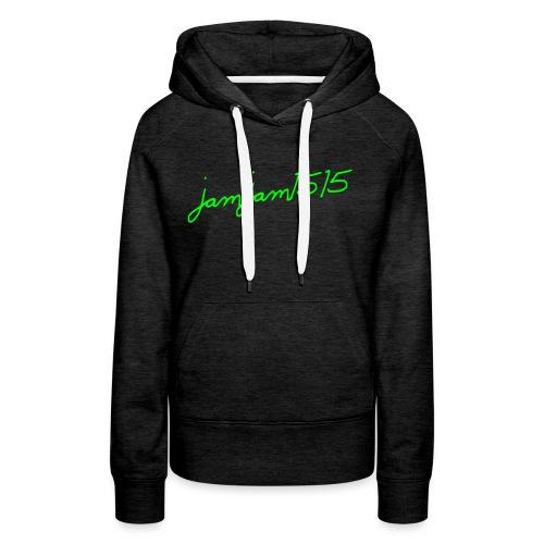 jamjam1515 Logo - Women's Premium Hoodie