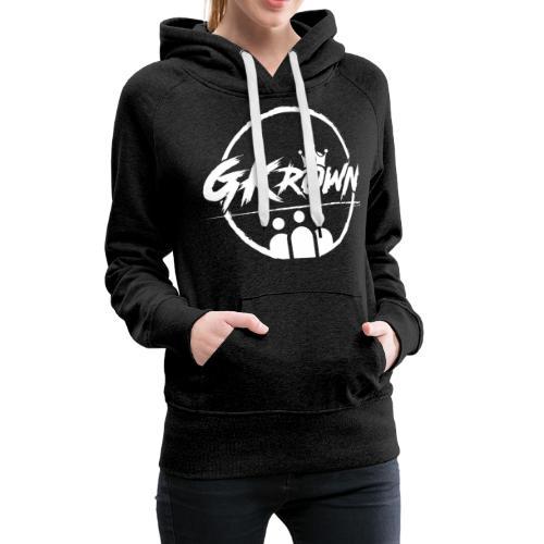 GKrown Logo White - Women's Premium Hoodie