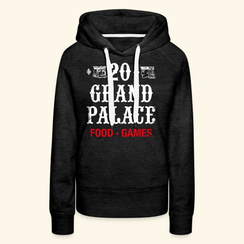 20 Grand Palace (neg.) - Women's Premium Hoodie