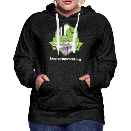 Boootstrap:Data Science - Women's Premium Hoodie