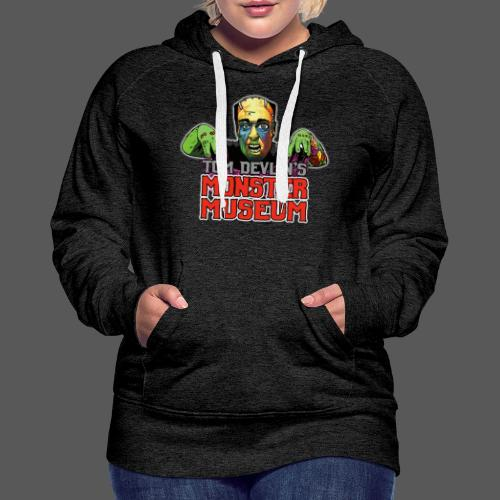 Monster Museum Logo - Women's Premium Hoodie