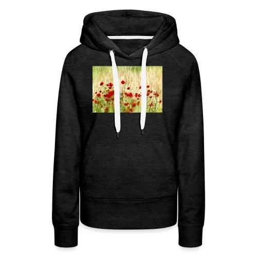 Iranian Poppies - Women's Premium Hoodie