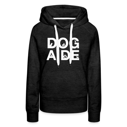 dog aide NEW white - Women's Premium Hoodie