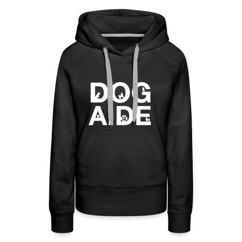 dog aide NEW white - Women's Premium Hoodie