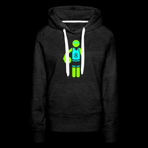 my amazing blab clothing logo - Women's Premium Hoodie