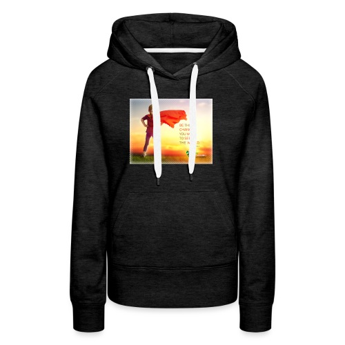 Education Superhero - Women's Premium Hoodie