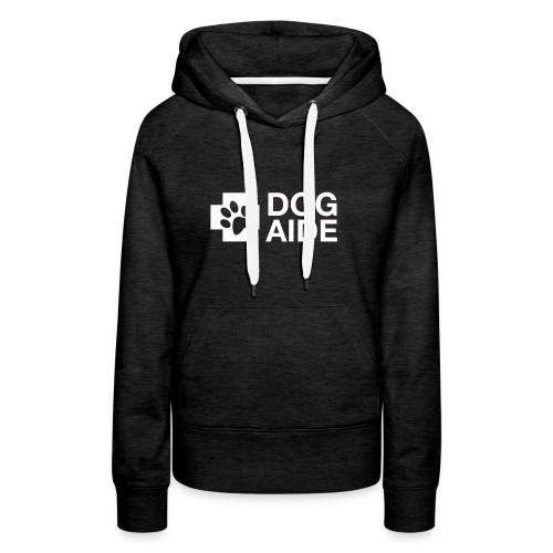 DA Logo White - Women's Premium Hoodie