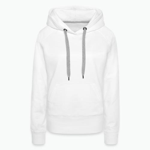 SFA LOGO WHITE - Women's Premium Hoodie