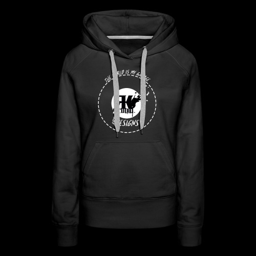 The World is My Garage - Women's Premium Hoodie