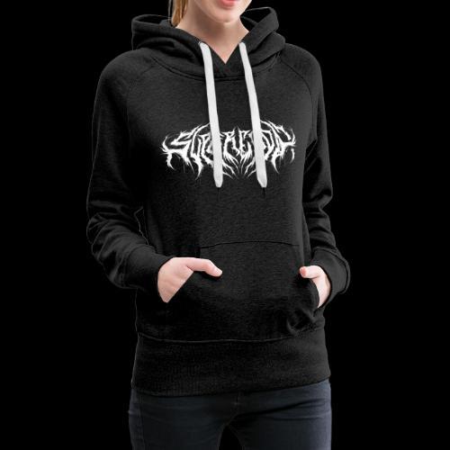 Supercool! logo - REVAMPIRED [WHITE] - Women's Premium Hoodie