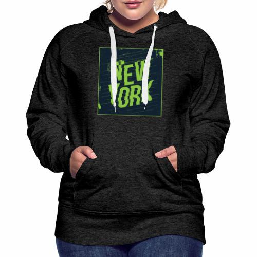 New York - Women's Premium Hoodie