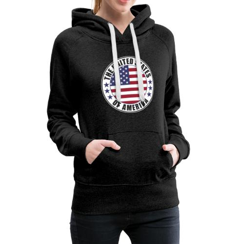The United States of America - USA - Women's Premium Hoodie