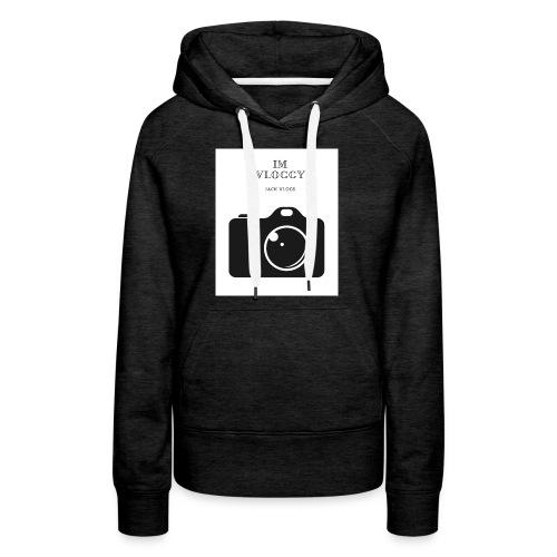 jackvlogs im vloggy - Women's Premium Hoodie