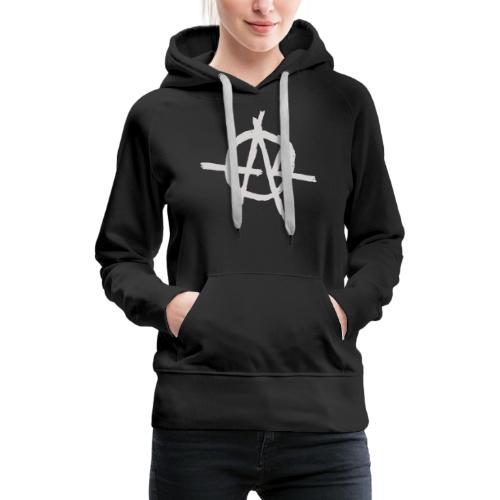 Anarchy (Grey) - Women's Premium Hoodie