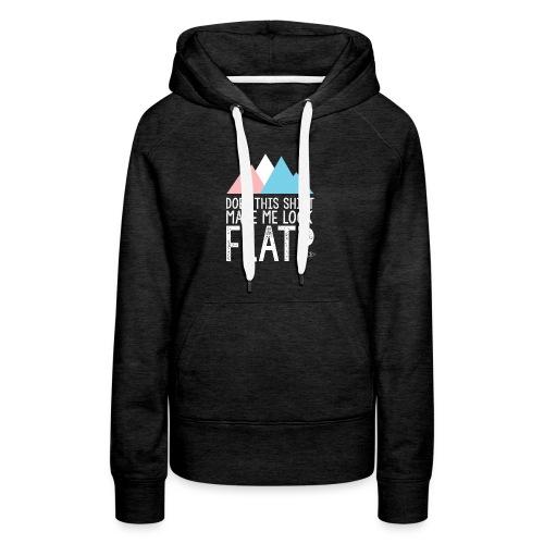 FLAT - Women's Premium Hoodie