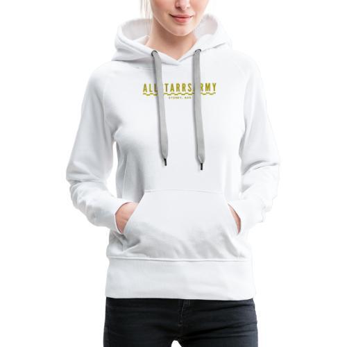 Womens AllStarrs Army Stamp Clothing - Women's Premium Hoodie