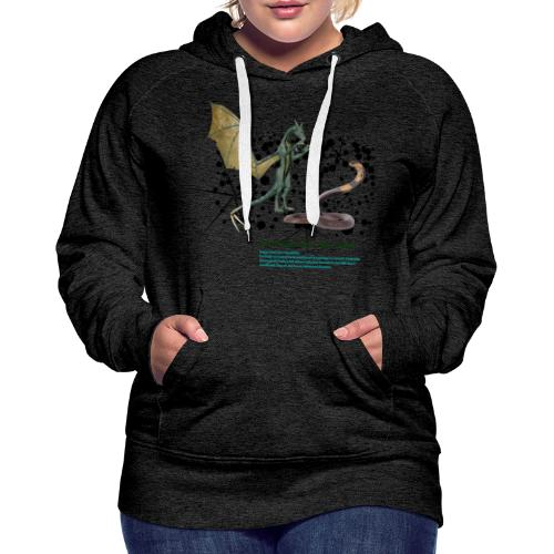 THE DRAGON AND THE SNAKE - Women's Premium Hoodie