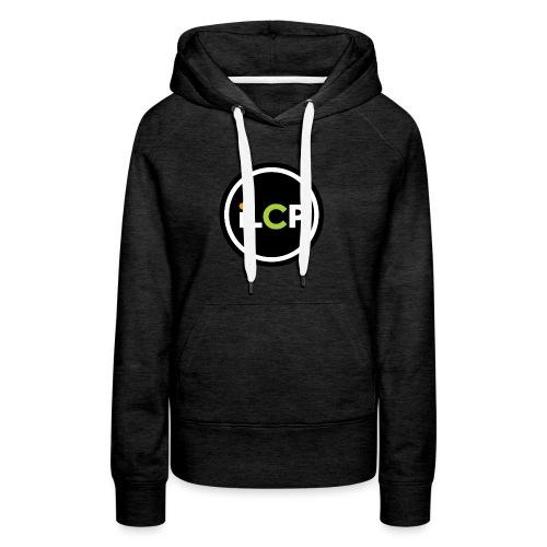 iLCP logo circle - Women's Premium Hoodie