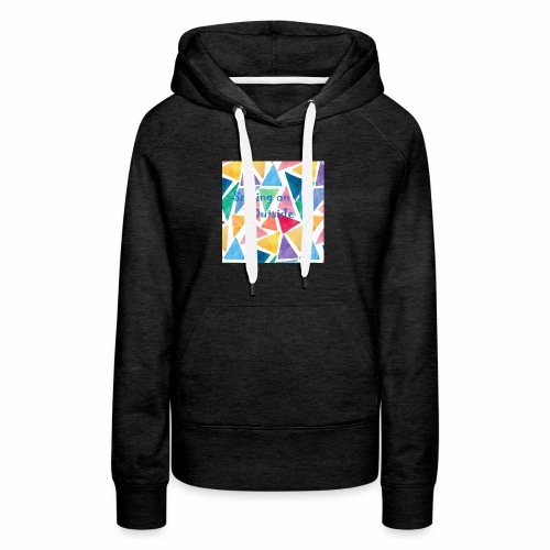 Smiling On The Outside - Women's Premium Hoodie