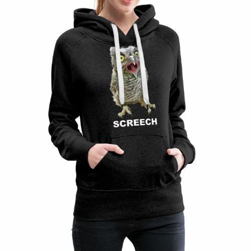 Screech Owl Patient at WildCare - Women's Premium Hoodie