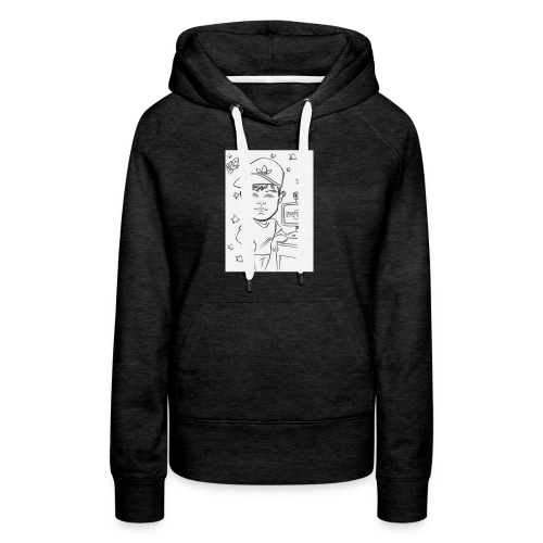 Elroy Sketch T-Shirt - Women's Premium Hoodie