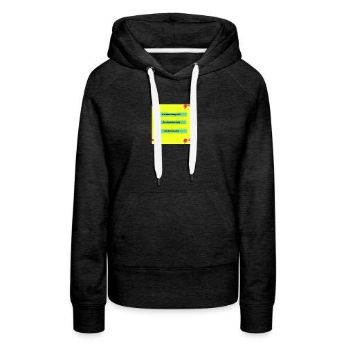 Shirt logo 1 redone - Women's Premium Hoodie