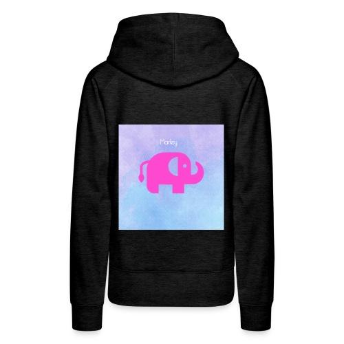 baby elephant - Women's Premium Hoodie