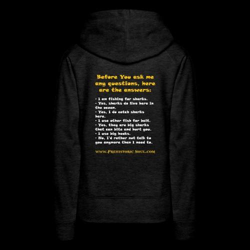 Surf Shark T-Shirts - Women's Premium Hoodie
