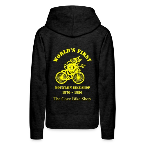 VIKING Large Yellow on back - Women's Premium Hoodie