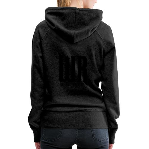 Wachler Records Dark Logo - Women's Premium Hoodie