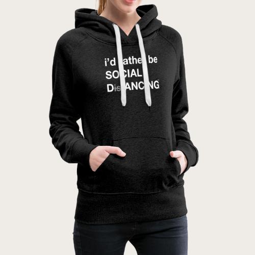 Social Dancing - Women's Premium Hoodie