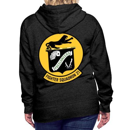 Fighter Squadron Twenty One VF-21 - Women's Premium Hoodie