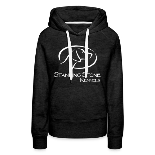 Standing Stone Kennels White Logo - Women's Premium Hoodie
