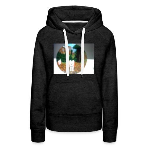 Wolf dog t-shirt - Women's Premium Hoodie